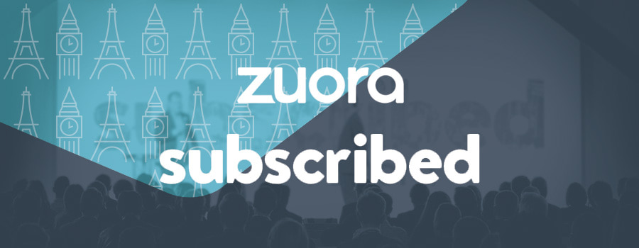 Subscribed 2018 by Zuora